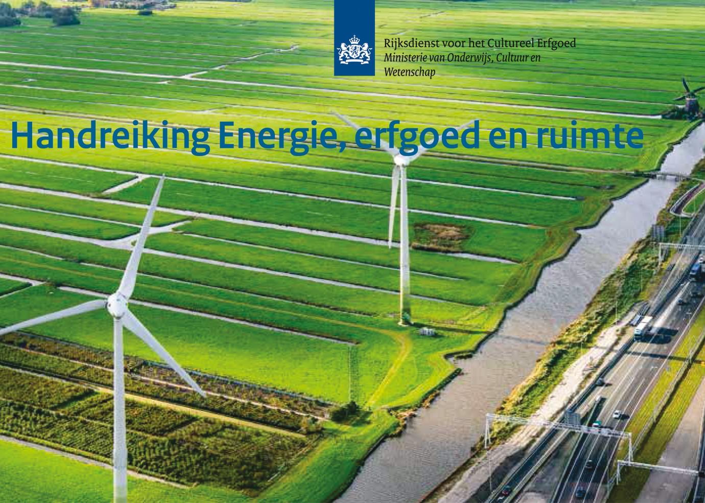Handreiking Energie Erfgoed en Ruimte