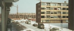 Naoorlogse wijk Poelenburg in Zaandam