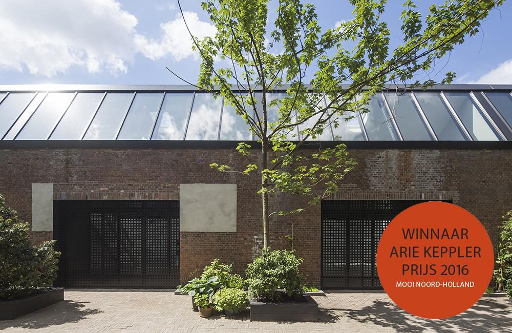 Tandwielenfabriek Amsterdam winnaar Arie Keppler Prijs 2016