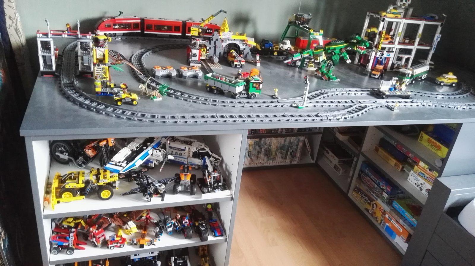 Slaapkamer met lego kindercollectie mooi noord holland