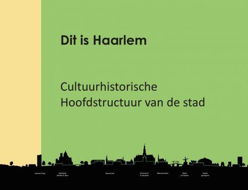 Cultuurhistorische hoofdstructuur Haarlem