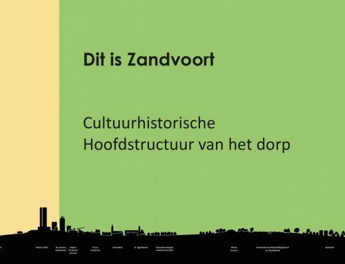 Cultuurhistorische hoofdstructuur Zandvoort